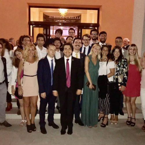 NICOLAS VACCHI PRESIDENTE DISTRETTUALE DEI LEO EMILIANI INAUGURA IL NUOVO ANNO SOCIALE CONVEGNO DI APERTURA LEO – LIONS DEL DISTRETTO 108 TB (PROVINCE  EMILIANE – LA SPEZIA) a.s. 2017-2018