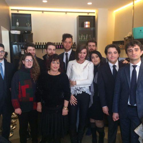 """SALA GREMITA A PALAZZO MARCHI PER FORZA ITALIA. VACCHI: """"DA QUI RICOSTRUIAMO IL FUTURO DELL'ITALIA""""."""