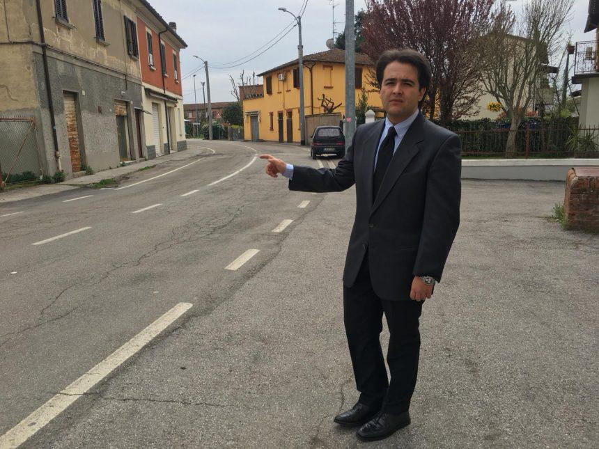 NICOLAS VACCHI: VIABILITÀ PERICOLOSA IN CENTRO A SESTO IMOLESE, RACCOLTA FIRME