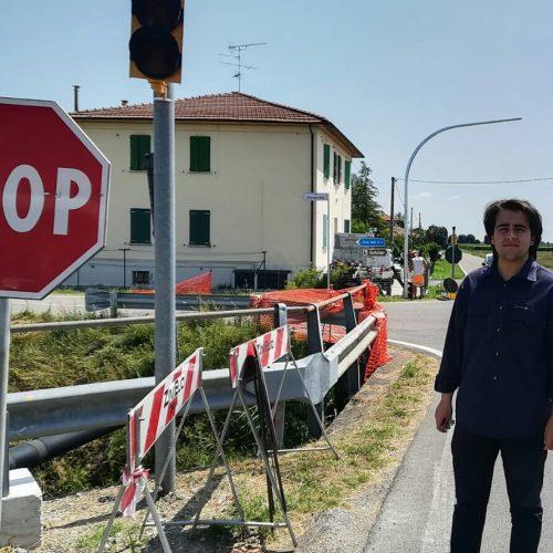 NICOLAS VACCHI (FORZA ITALIA): NUOVO INCIDENTE ALL'INCROCIO DELLA STERLINA. IL SINDACO ACCENDA IL SEMAFORO.