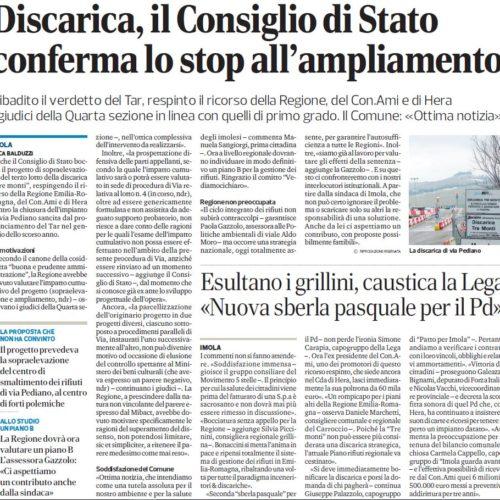 Discarica, il Consiglio di Stato conferma lo stop all'ampliamento
