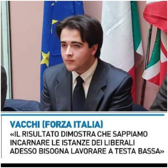 IL COMMENTO DI NICOLAS VACCHI (FI) SULLE EUROPEE