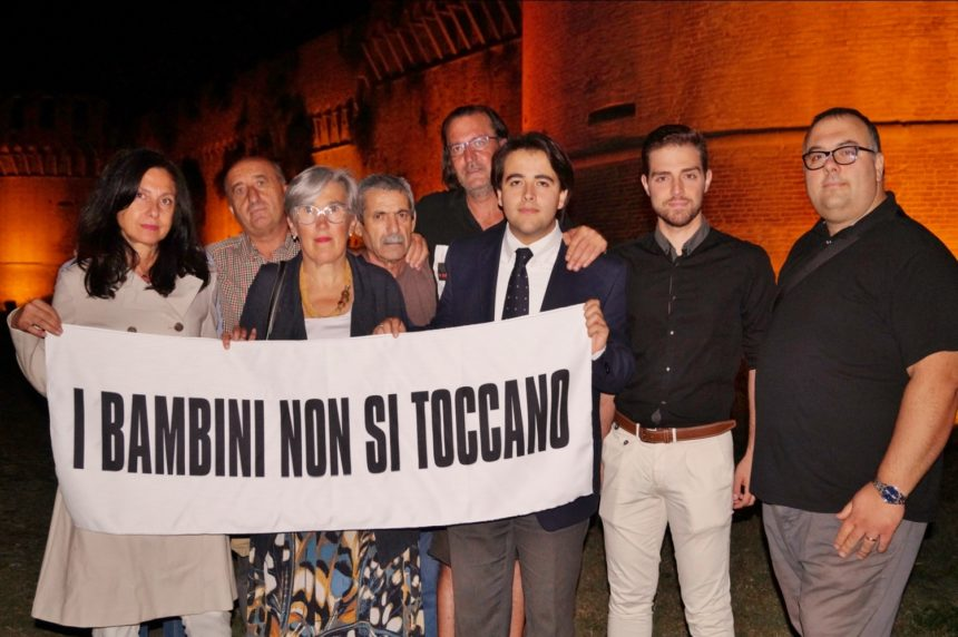 """FRATELLI D'ITALIA IMOLA ACCOGLIE """"PAPI GUMP"""" A TUTELA DEI DIRITTI DEI MINORI MARCIA DI SENSIBILIZZAZIONE DA VASTO A BIBBIANO, PASSANDO PER IMOLA"""