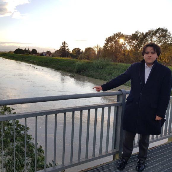 """NICOLAS VACCHI (FDI): ESONDAZIONE SILLARO A SESTO IMOLESE: """"ESISTE UNA PROGRAMMAZIONE SERIA PER LA PULIZIA E MANUTENZIONE ARGINI?"""""""