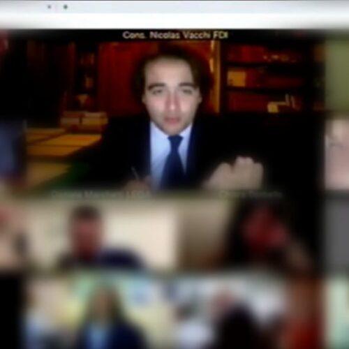 NICOLAS VACCHI (FDI): GRAVISSIMA INTERRUZIONE DEL CONSIGLIO COMUNALE PER PROBLEMI INFORMATICI, VOGLIO SUBITO CHIAREZZA E RISOLUZIONE DEI PROBLEMI